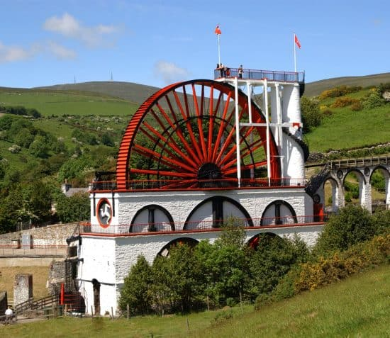 The Great Laxey Wheel - Queeyl Vooar Laksey