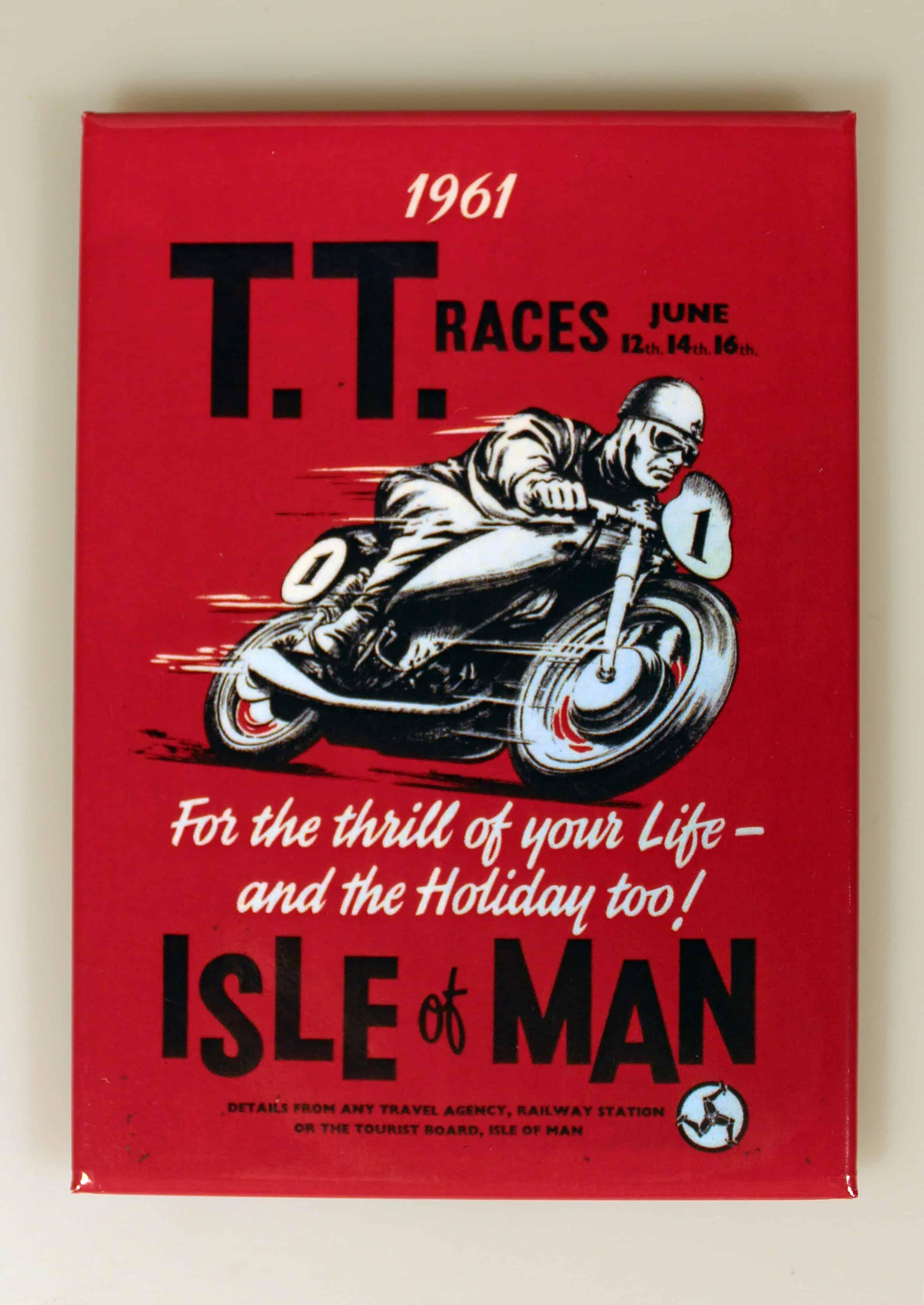 1961 TT Poster A7 Notebook
