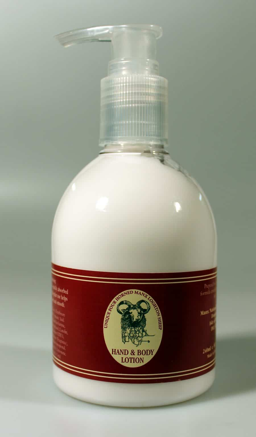 loghtan hand and body lotion