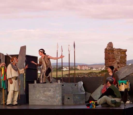 Open Air Shakespeare at Peel Castle