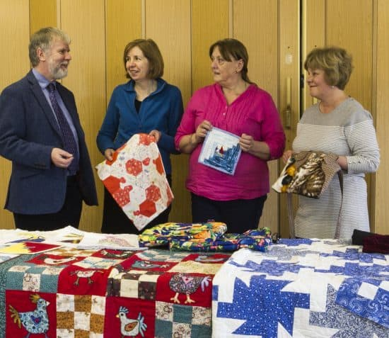 Heritage Quilters Support Good Causes
