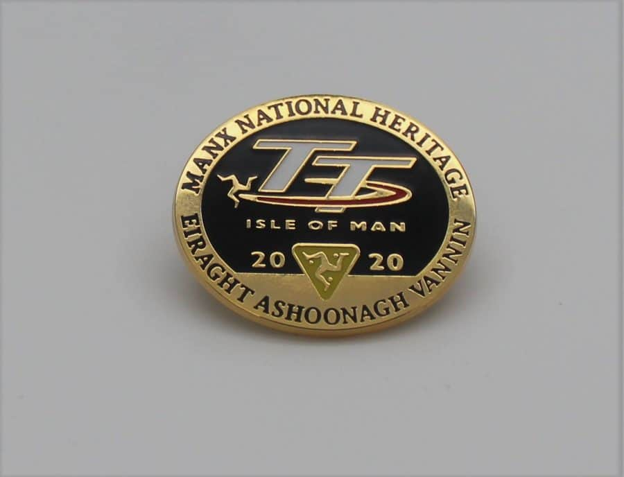 MNH TT Pin Badge 2020