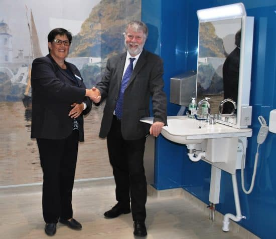 MANX LOTTERY TRUST GRANT FOR ISLAND'S FIRST PUBLICLY ACCESSIBLE CHANGING PLACE AT THE MANX MUSEUM