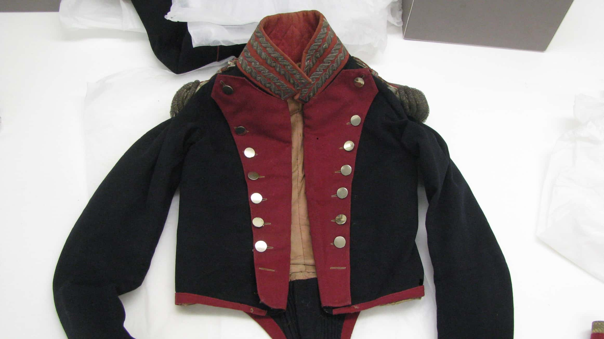 Conserved Napoleonic Uniform by Jacqueline Hyman