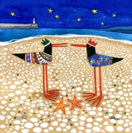 Christmas Jumpers Card by Nicola Dixon Image copyright Nicola Dixon