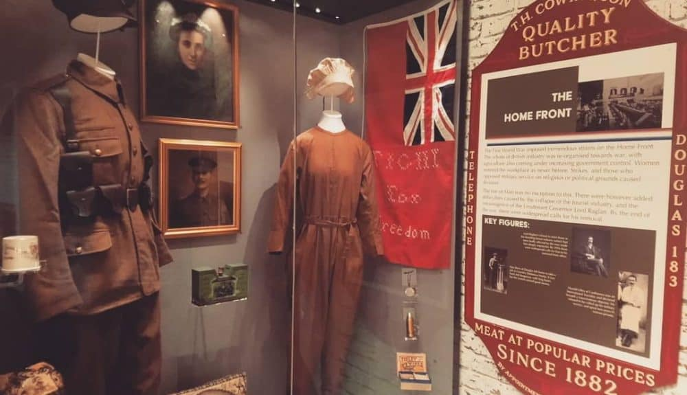 New Military History Gallery 'Mann at War' opens at the Manx Museum