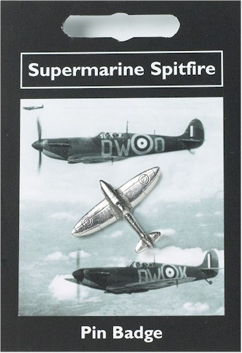 Supermarine Spitfire Pin Badge