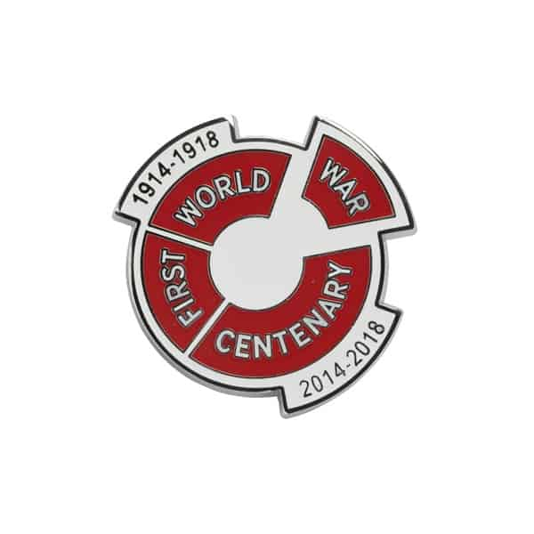 Centenary Pin Badge