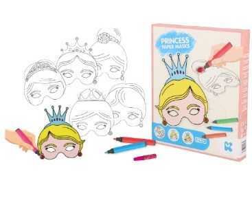 Princess Paper Mask Kit