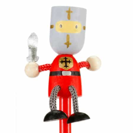Red Knight Pencil Topper
