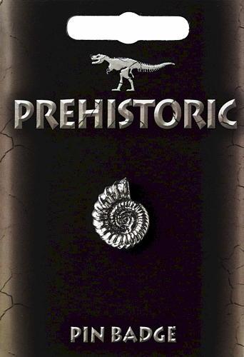Ammonite Pin Badge