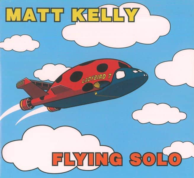 Flying Solo CD by Matt Kelly