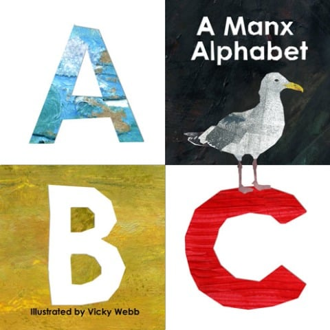 Manx Alphabet Illustrated by Vicky Webb