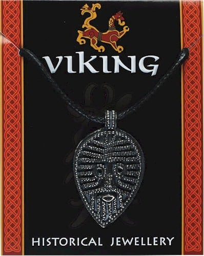 Viking Face Pendant