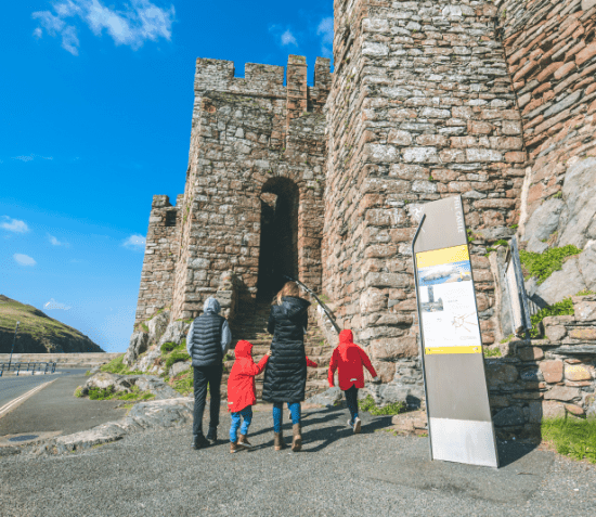 Entrance to Peel Castle