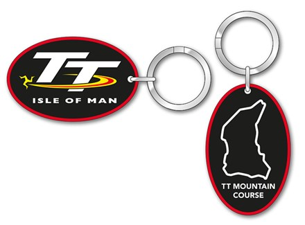 TT Course Map Keyring