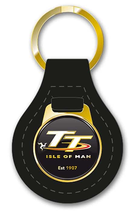 leather tt keyring