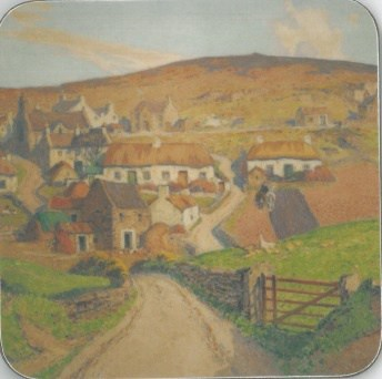 William Hoggatt Cregneash Coaster