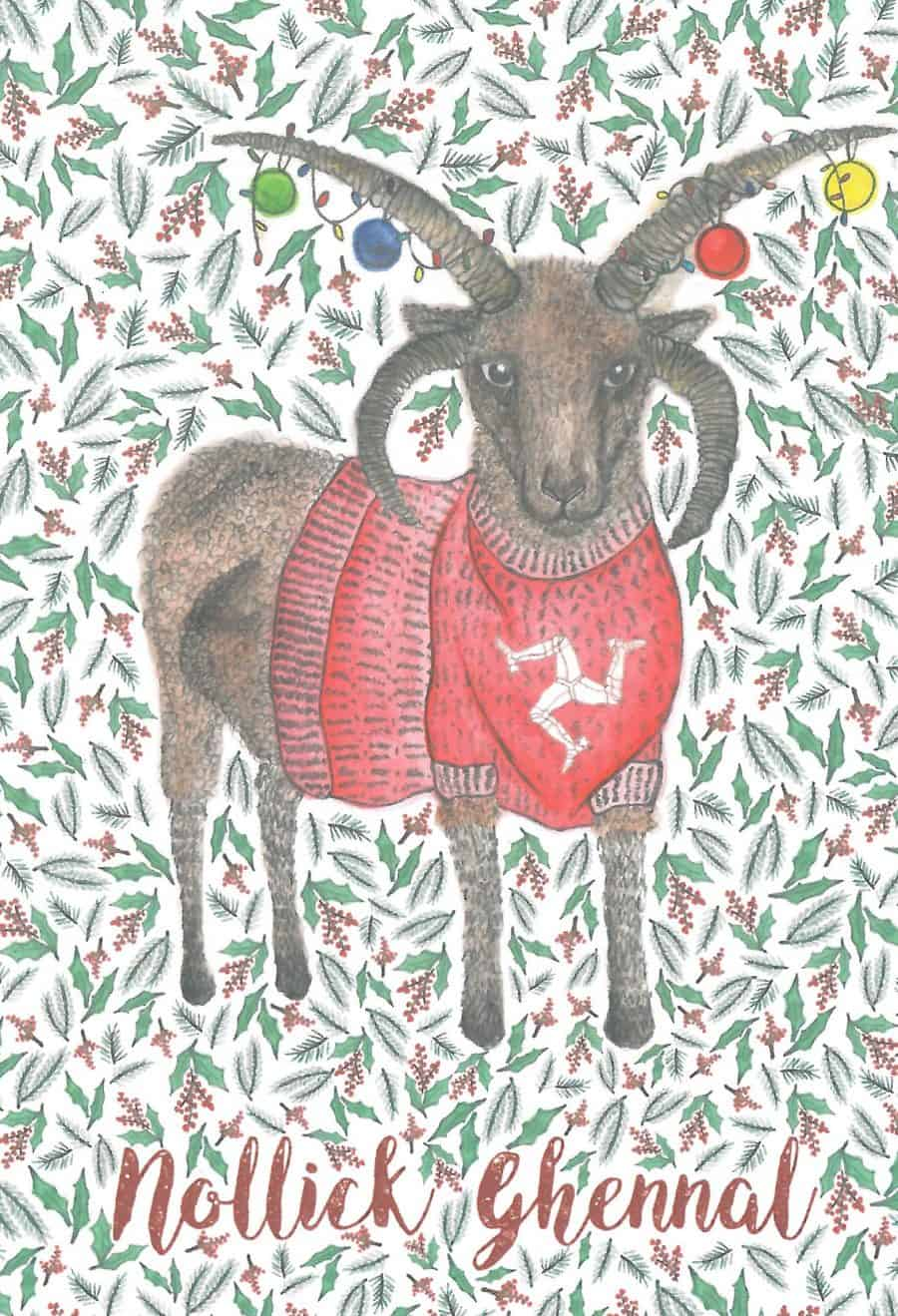 Loghtan Christmas card Image copyright Alice Rose Fayle
