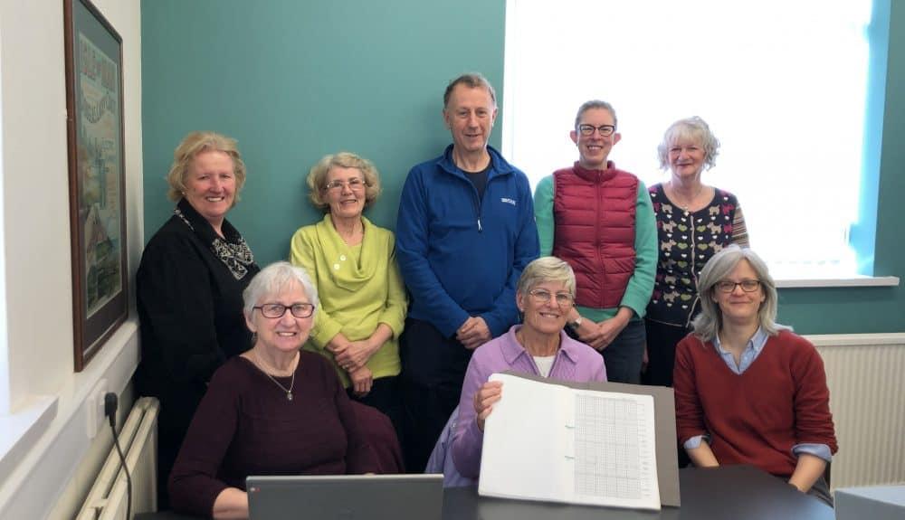 NBN Atlas Isle of Man Calf Daily Bird Logs Volunteer and MNH Team