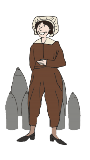 Illustration of Alice Gibb