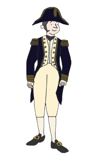 Illustration of Captain Quilliam