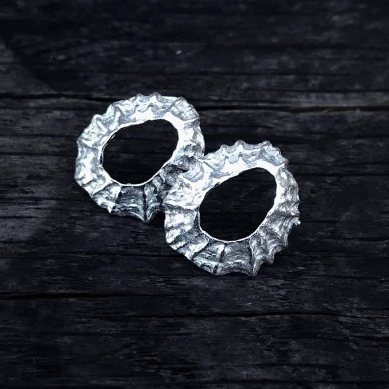 ELEMENTIsle Limpet Shell Stud Earrings