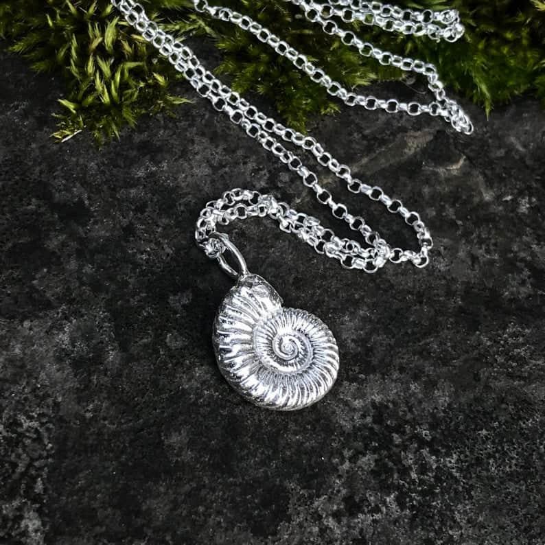 ELEMENTIsle Ammonite Pendant