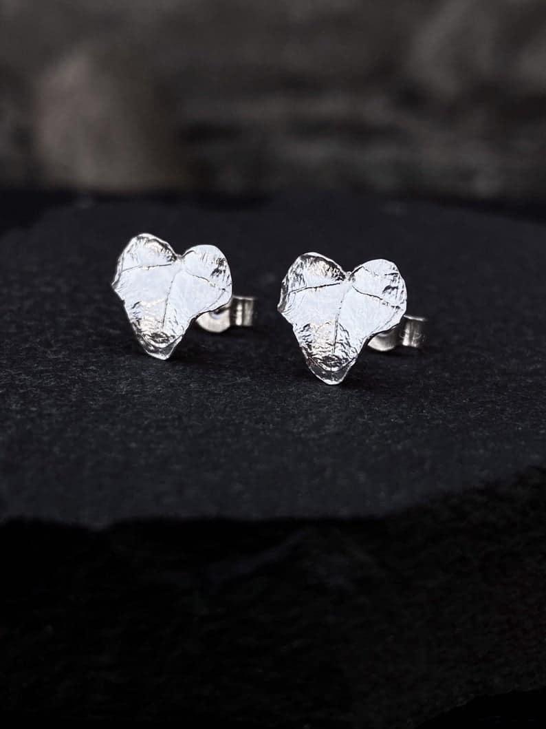 ELEMENTIsle Ivy Leaf Stud Earrings