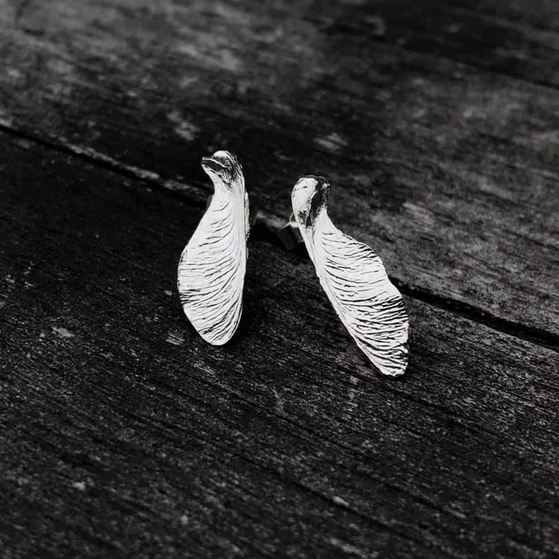 ELEMENTIsle Sycamore Stud Earrings