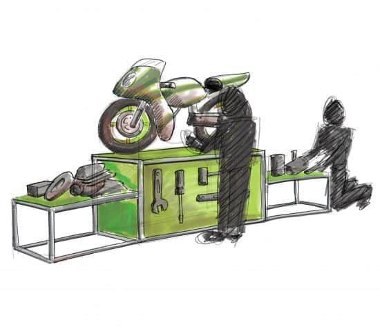 Concept Designs for new Isle of Man TT Gallery, Manx Museum