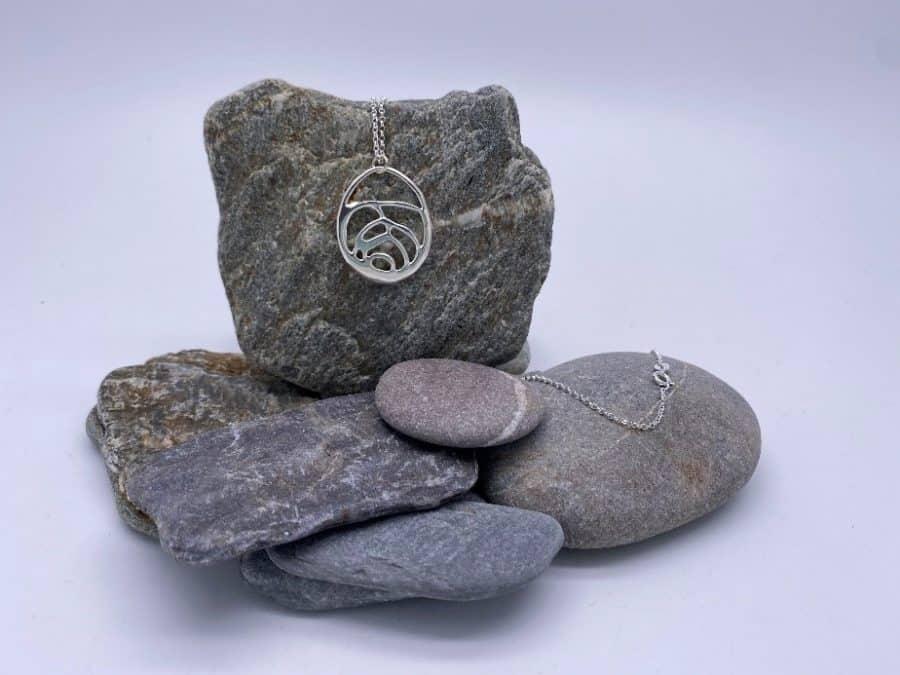 ELEMENTIsle Organic Silver Pendant