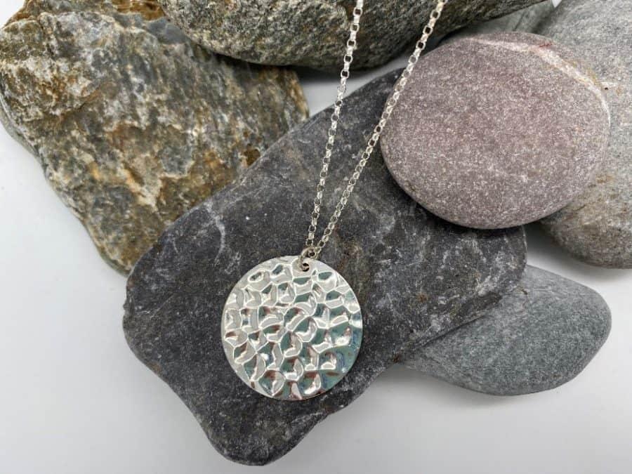 ELEMENTIsle Silver Pebble Pendant
