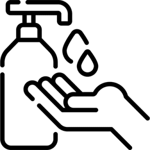 Hand sanitiser Icon