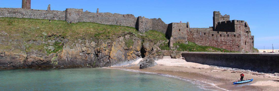 Peel Castle – Cashtal Phurt Ny h-inshey