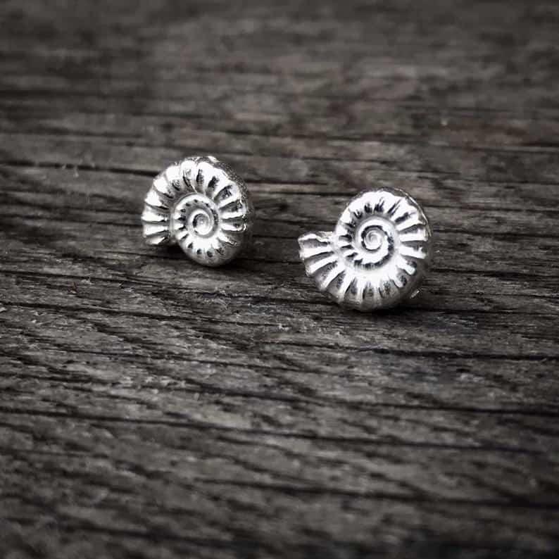ELEMENTIsle Ammonite Earrings
