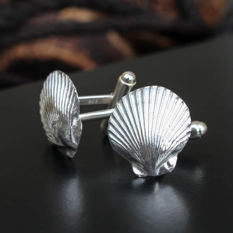 ELEMENTIsle Queenie Shell Cufflinks