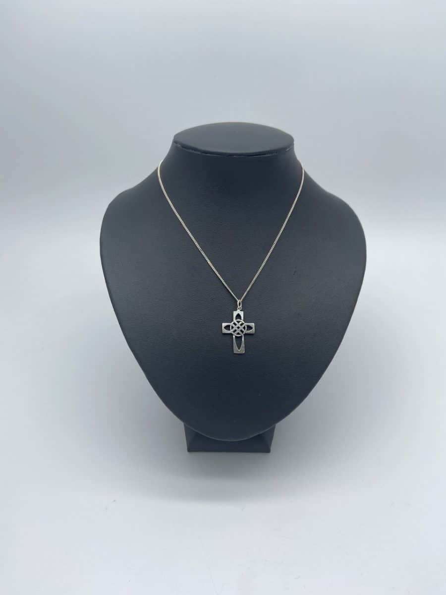 Open Work Celtic Cross Pendant