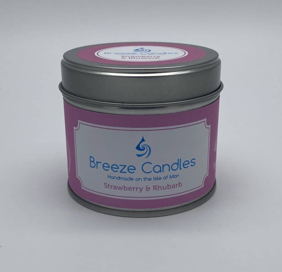 Breeze Candles - Strawberry and Rhubarb