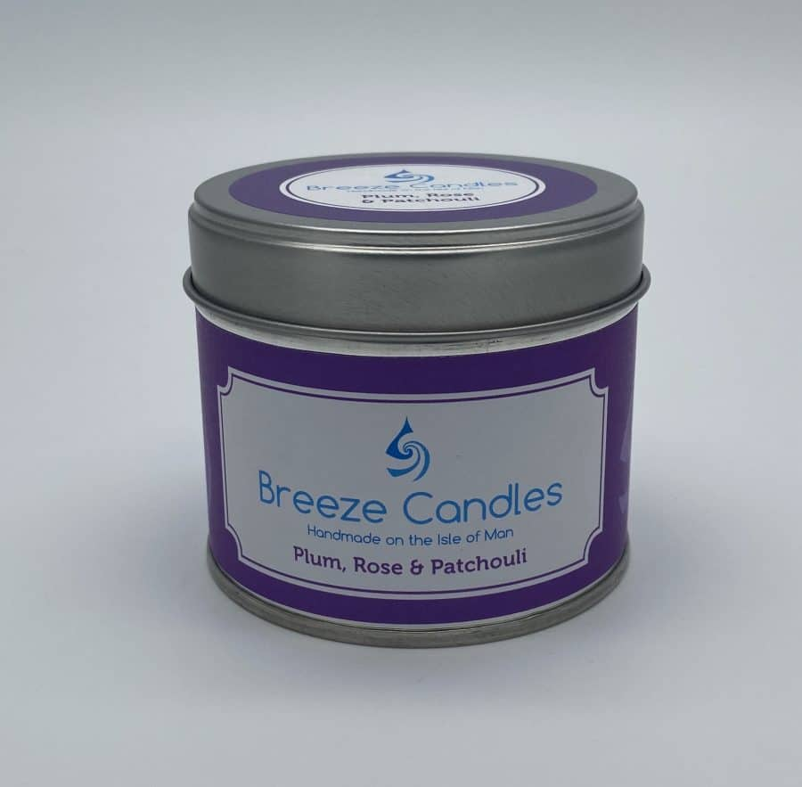 Breeze Candles - Plum, Rose and Patchouli