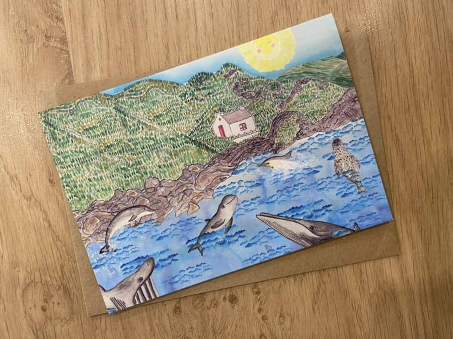 Niarbyl Card by Alice Rose Fayle Design