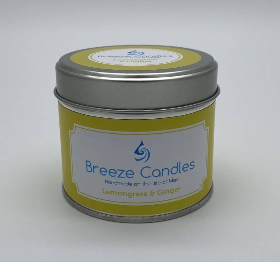 Breeze Candles - Lemongrass and Ginger