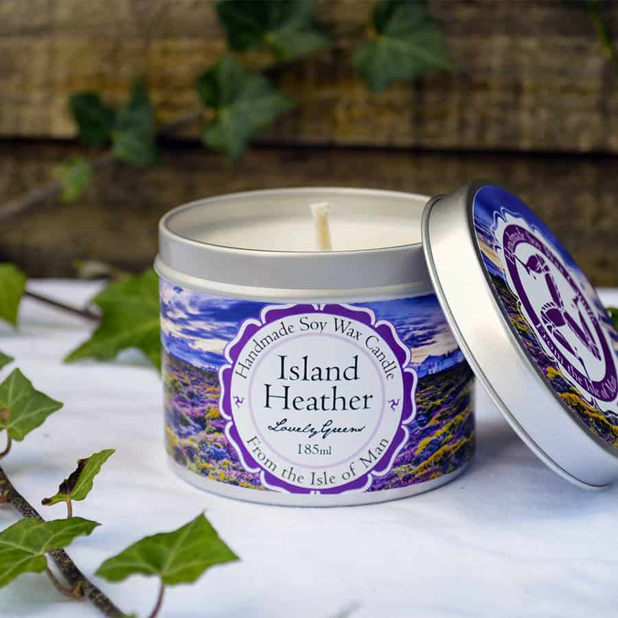 Lovely Greens Island Heather Candle