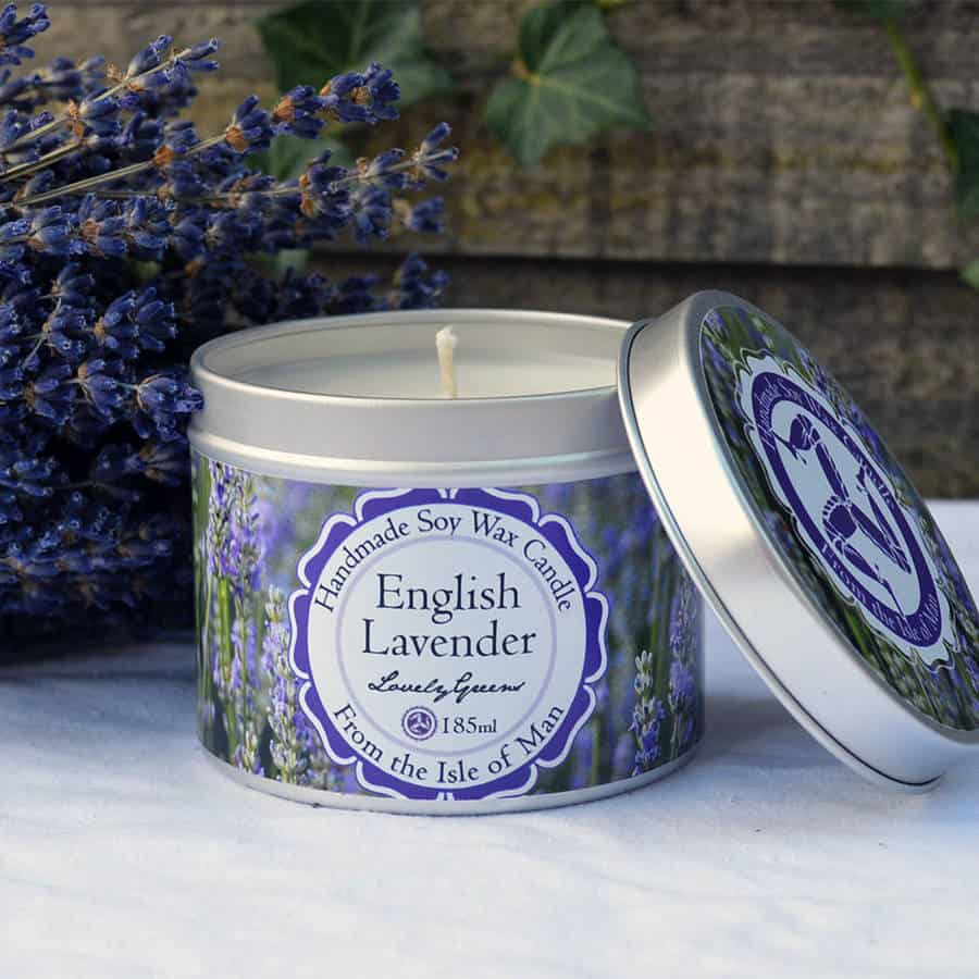 Lovely Greens English Lavender Candle
