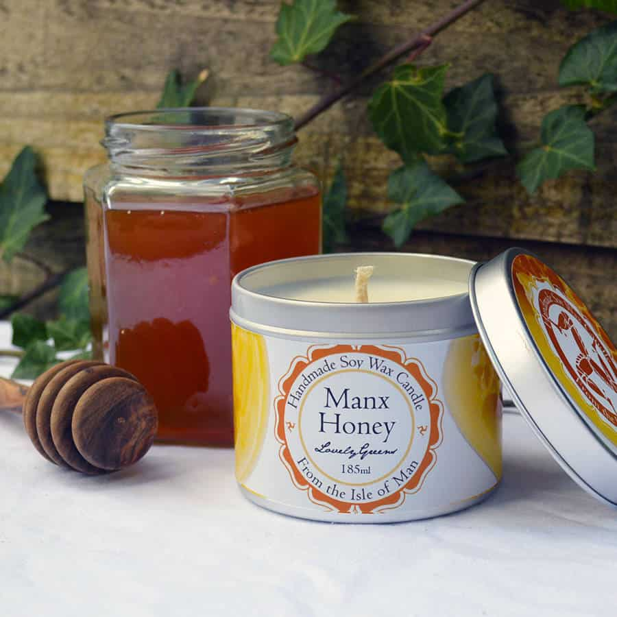 Lovely Greens Manx Honey Candle