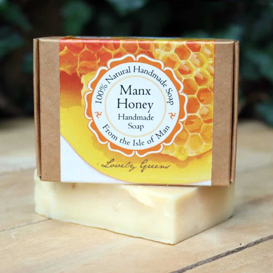 Lovely Greens Manx Honey Soap