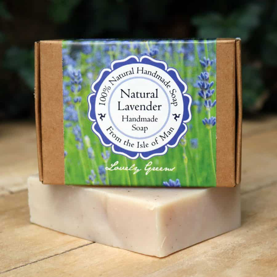 Lovely Greens Natural Lavender Soap