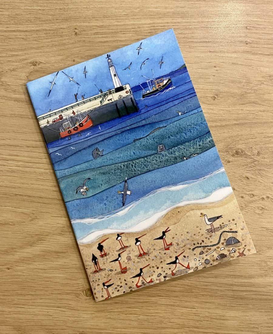 'Peel Seals' Notebook by Nicola Dixon