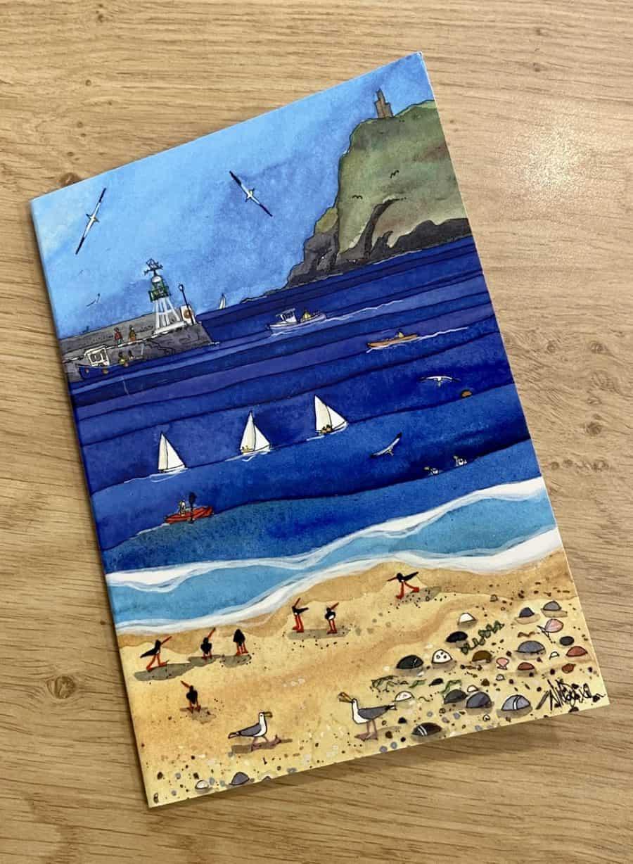 'Nautical Scene' Notebook by Nicola Dixon