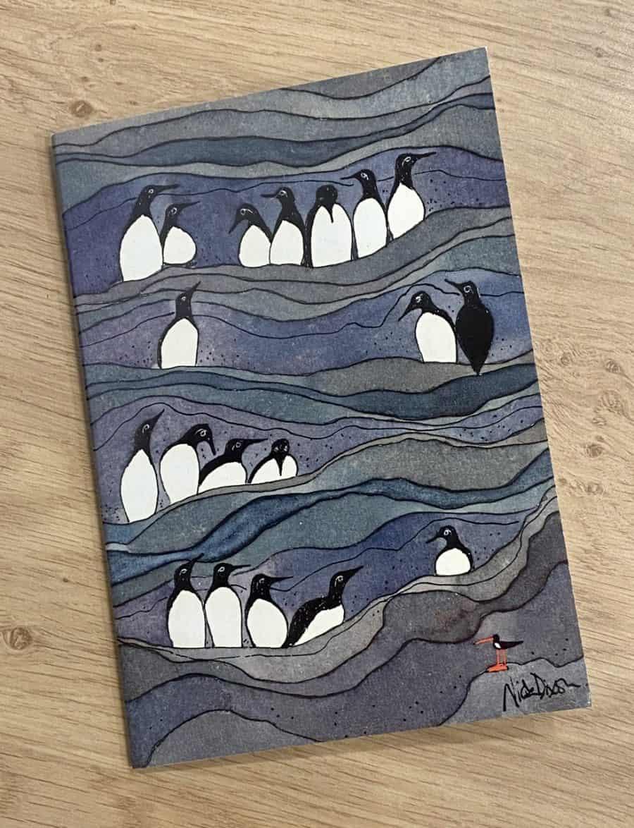 'Guillemot' Notebook by Nicola Dixon